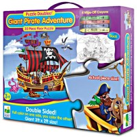 Giant Pirate Ship Puzzle - Puzzle Doubles