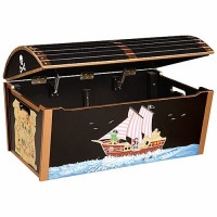 Pirate Treasure Chest Toy Chest