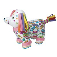 Color and Cuddle Washable Poodle