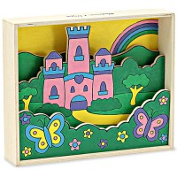 Princess Castle - Paint by Numbers Art Kit