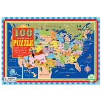 This Land is Your Land US Map 100 pc Puzzle