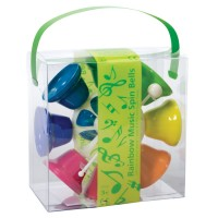 Rainbow Music Spin Bells Musical Toy