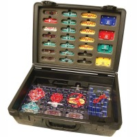 Educational Snap Circuits 300 with Deluxe Case
