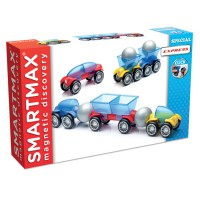 Smartmax Express Vehicles Magnetic Building Set