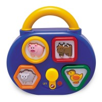 Musical Shape Sorter Toddler Activity Toy