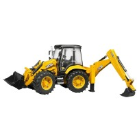 Bruder JCB Backhoe Loader Construction Vehicle
