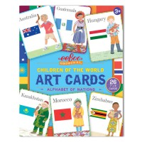Children of the World Art Cards Alphabet Set