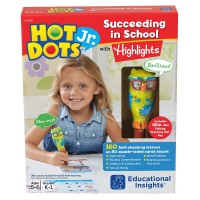 Hot Dots Jr. Succeeding in School with Hightlights 160 Interactive Lessons & Owl Pen Set