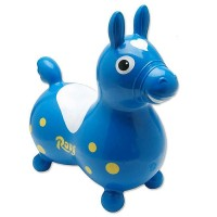 Rody Inflatable Hopping Horse - Blue