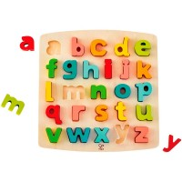 Chunky Lowercase Letters 26 pc Puzzle