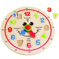 Happy Hour Clock Wooden Puzzle