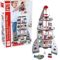 Four Stage Rocket Ship Deluxe Space Playset