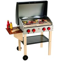 Kids Gourmet Grill & BBQ Food Play Set