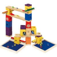 Music Motion Quadrilla 97 pc Musical Wooden Marble Run