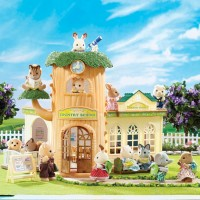 Calico Critters Country Tree School 40 pc Playset