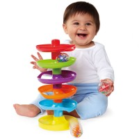 Whirl n Go Ball Tower Baby Activity Toy
