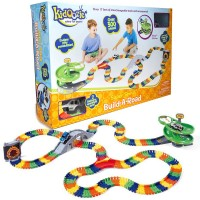 Deluxe Build a Road Super Spiral 300 pc Construction Set