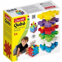 Qubo Stacking Blocks and Pegs Activity Set for Toddlers