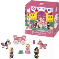 Princess Mini Story 7 pc Wooden Play Set