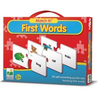 First Words Match It! Learning Puzzle