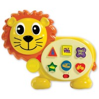On the Go Lion Vehicle Sound Electronic Toy