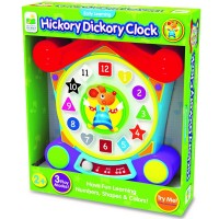 Hickory Dickory Clock - Numbers, Shapes, Colors Early Learning Toy