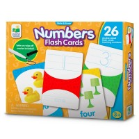 Numbers Write & Erase Flash Cards