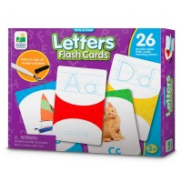 Letters Write & Erase Flash Cards