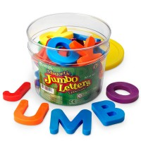 Jumbo Magnetic Letters - Uppercase Set of 40