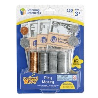 Play Money 150 pc Actual Size Money Set