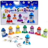 Rhyme & Sort Rockets Learning Toy