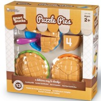 Puzzle Pies Numbers & Fractions Food Play Set