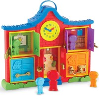 Latch & Learn School House Manipulative Activity Toy