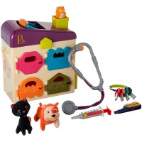 Pet Vet Lock & Key Animal Doctor Set