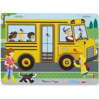 The Wheels on the Bus Peg Sound Puzzle