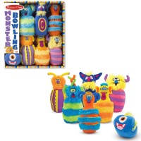 Monster Bowling 7 pc Set
