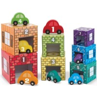 Nesting & Sorting Garage & Cars Learning Playset