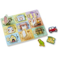 Magnetic Hide & Seek Activity Board