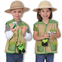 Backyard Safari Explorer Role Play Costume Set