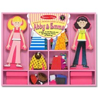 Abby & Emma Magnetic Dolls Dress-Up Set