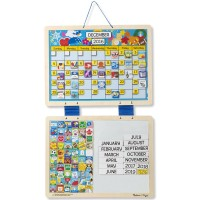 Monthly Magnetic Calendar with 133 Magnets