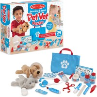 Examine & Treat Pet Vet 24 pc Play Set