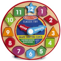 Shape Sorting Clock  Preschool Learning Toy