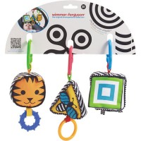 Wimmer-Ferguson Clip & Discover Shapes Baby Travel Toy