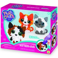 PlushCraft Kitten Club 3D Fabric Craft Kit