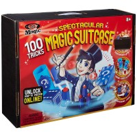 Spectacular Magic Suitcase 100 Tricks Deluxe Magic Kit