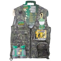 Backyard Safari Kids Explorer Camo Jungle Vest