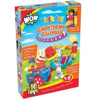 Birthday 10 Days Countdown Calendar Play Set