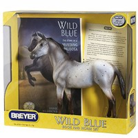 Breyer Wild Blue Horse Story Book and Model Set
