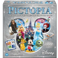 Pictopia Disney Edition Picture Trivia Board Game